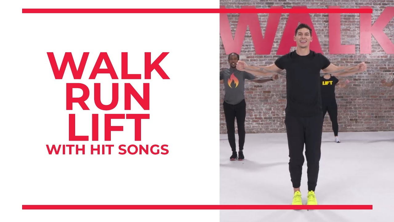 Download Walk Run Lift with Hit Songs   45 Minute Workout