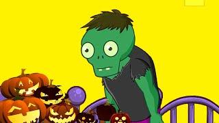 El Baile de los Zombies. Halloween para niños. Día de muertos .Lunacreciente