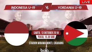 Live Streaming Timnas Indonesia U19 vs Yordania U19 , Indra Sjafri Pastikan Egy Turun
