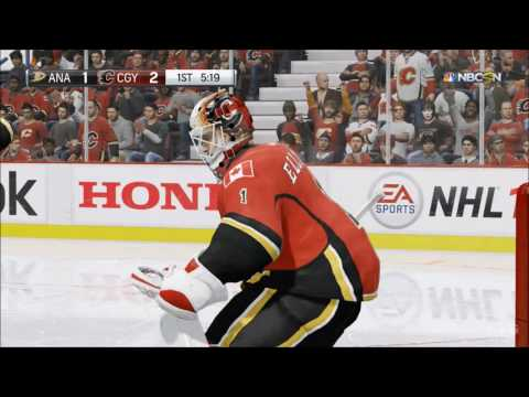 NHL 17 - Anaheim Ducks vs Calgary Flames | Gameplay (HD) [1080p60FPS]
