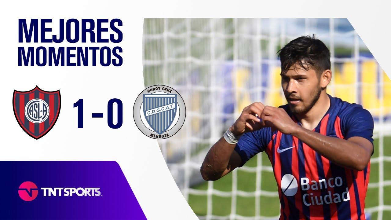 GRAN TRIUNFO DE SAN LORENZO 🔵🔴 San Lorenzo vs Godoy Cruz (1-0) | Zona A - F 12 - Copa LPF 2021