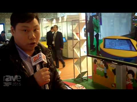 ISE 2015: Hanshin Talks About the New eFun Table