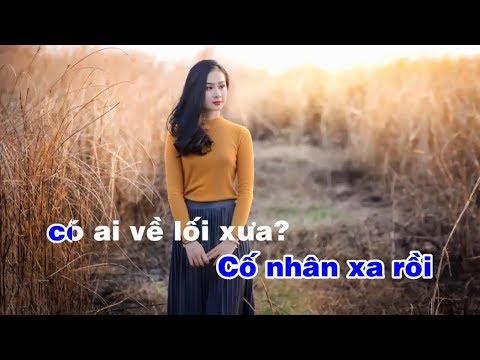 Hoài Cảm Karaoke Nhớ thương - Sáng tác Cung Tiến