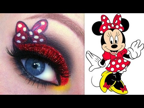 disney 39 s minnie mouse makeup tutorial youtube. Black Bedroom Furniture Sets. Home Design Ideas