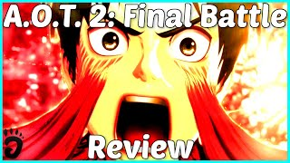 Review: Attack on Titan 2: Final Battle (Reviewed on PS4, also on Switch, PC and Xbox One) (Video Game Video Review)
