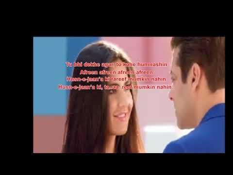 Aisa Dekha Nahi Afreen  Afreen Karaoke