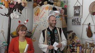 Цікава історія іграшки. Відкриття виставки іграшок в Музеї історії Надвірнянщини 03.09. 2017