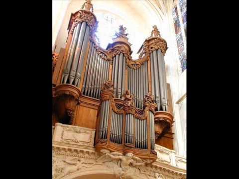 Eustache du Caurroy   33e Fantaisie  par Aude Heurtematte à l'orgue de Saint-Gervais, Paris