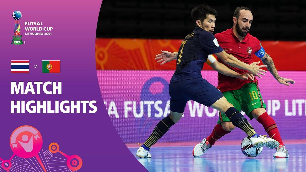 Thailand v Portugal   FIFA Futsal World Cup 2021   Match Highlights