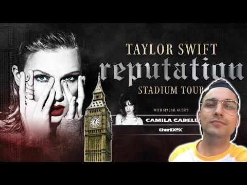 VLOG: Os llevo a Londres a ver a Taylor Swift en el Reputation Stadium Tour  JJ
