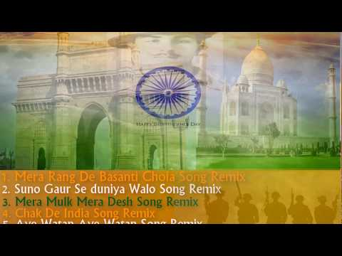 Non Stop Desh Bhakti Songs [Remix] Independence Day Special [Dj Ayush]