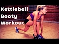 12 Minute Kettlebell Booty Workout to Strengthen and Shape