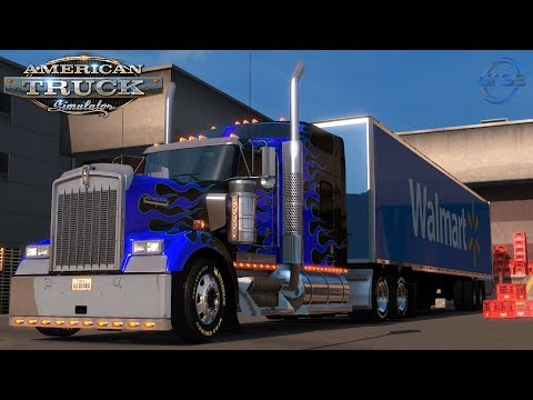 American Truck Simulator: Denver To Colorado Springs With CB Chatter