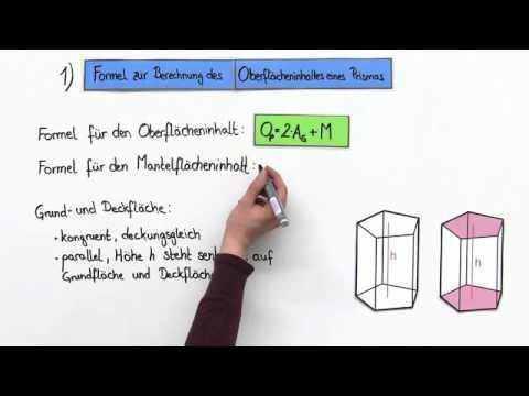 berechnen der oberfl che eines k rpers durch teilung in prismen mathematik geometrie youtube. Black Bedroom Furniture Sets. Home Design Ideas