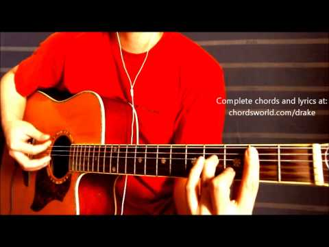 Hold On We're Going Home Chords by Drake - How To Play - chordsworld