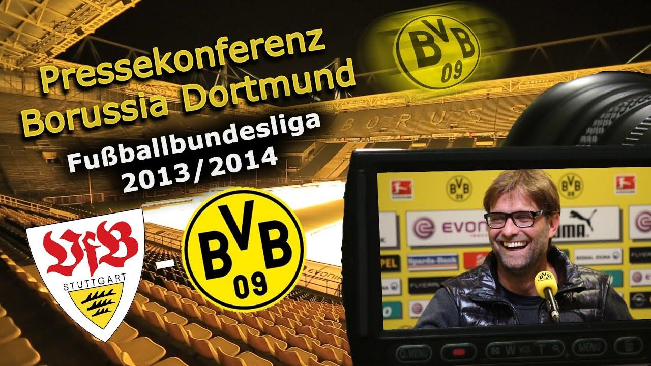 BVB Pressekonferenz vom 27. März 2014 vor dem Spiel VfB Stuttgart gegen Borussia Dortmund