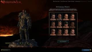 Neverwinter - Character selection - Gameplay -PC Let's Play Paladin