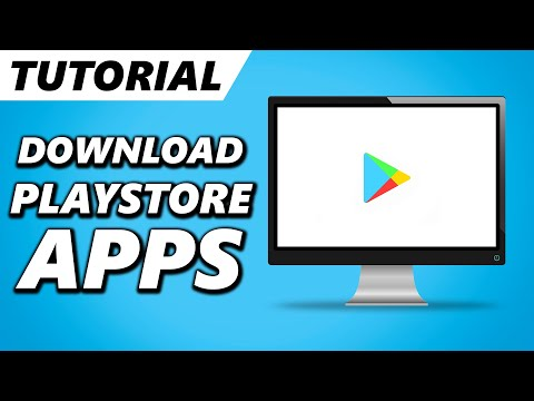 How to Download Play Store Apps on PC | How to install Google Play Store App on PC or Laptop! (2021)