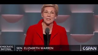 Elizabeth Warren Democratic National Convention FULL Speech 7/25/16 DNC by : LesGrossman News