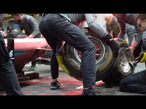 2017 F1 Pit Stops: Harder, Better, Faster, Stronger