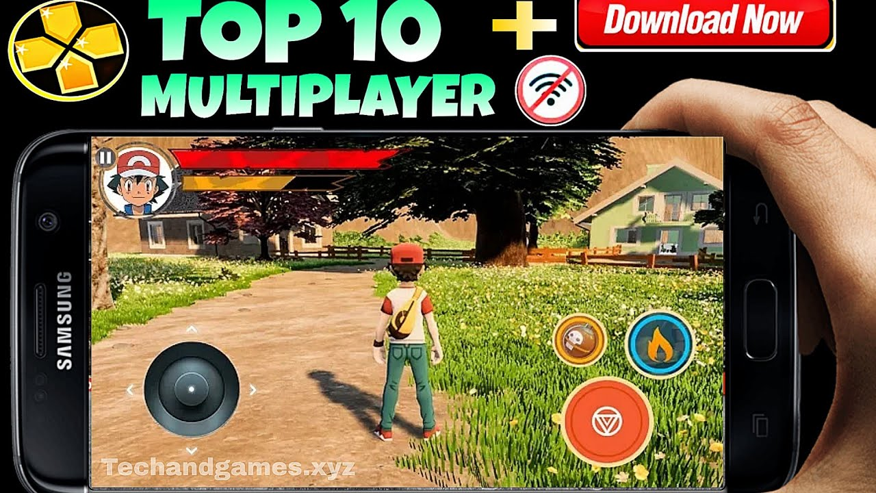 Top 10 PSP/ppssp emulator MULTIPLAYER Games for Android||High Graphics,Best  Multiplayer for Psp,2019