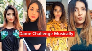 Dame Challenge Musically Aashika, Mrunal Panchal, Mr. Faisu, Disha, Nagma, Lucky Dancer