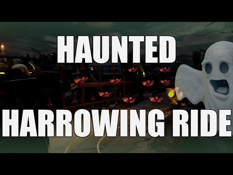 [360°] Haunted Harrowing Ride