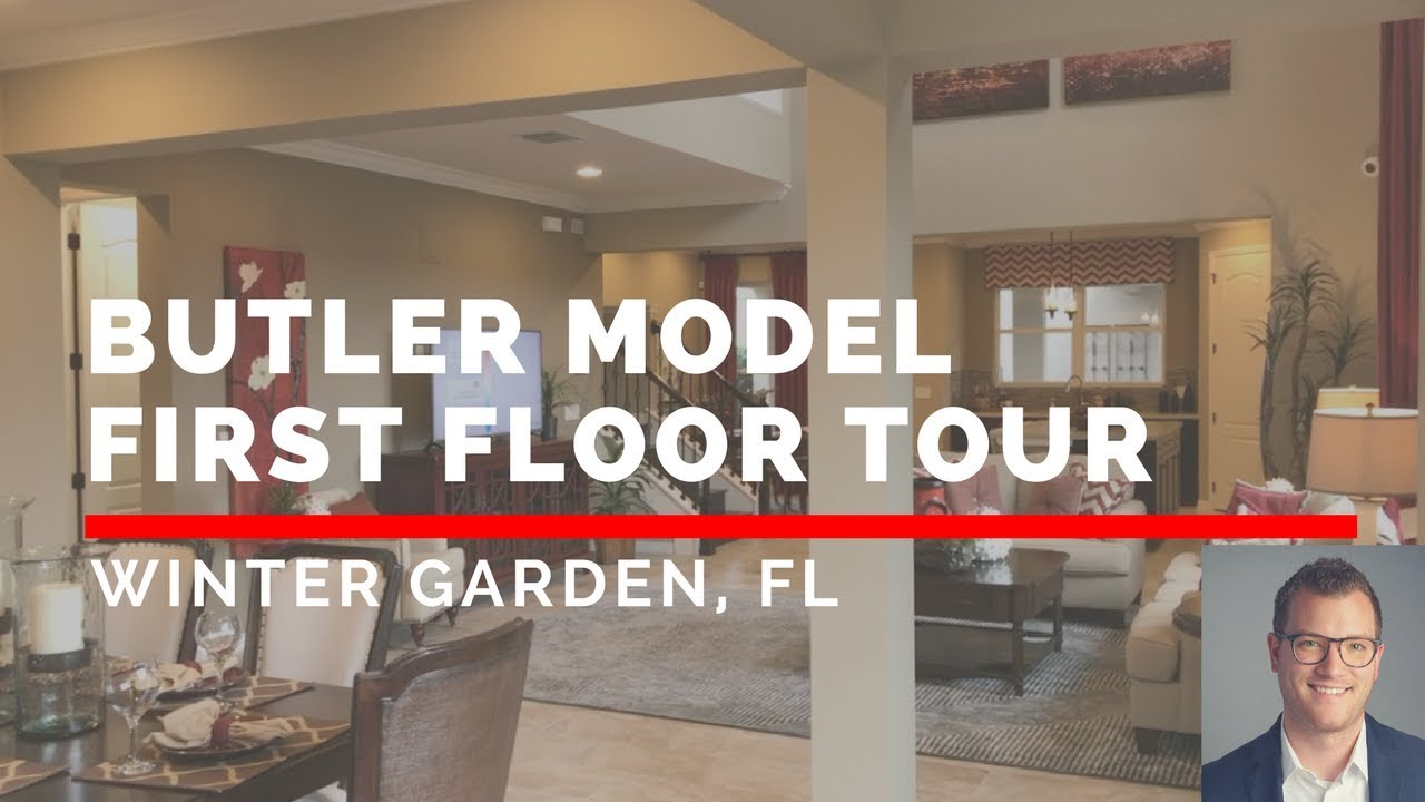butler model hamlin second level tour taylor morrison youtube