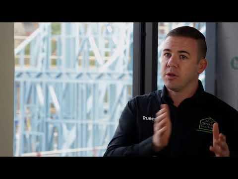 Peter Blythe, Managing Director of Dynamic Steel Frame