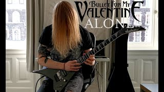 Bullet For My Valentine - Alone (Guitar Cover) + guitar track by Krystian Krasącki