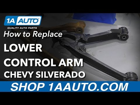 How to Replace Lower Control Arm 07-13 Chevy Silverado