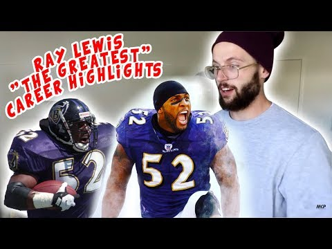 Rugby Player Reacts to RAY LEWIS The Greatest NFL Career Feature YouTube Video