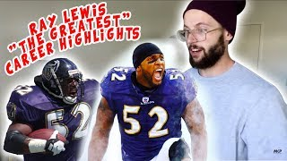 "Rugby Player Reacts to RAY LEWIS ""The Greatest"" NFL Career Feature YouTube Video"