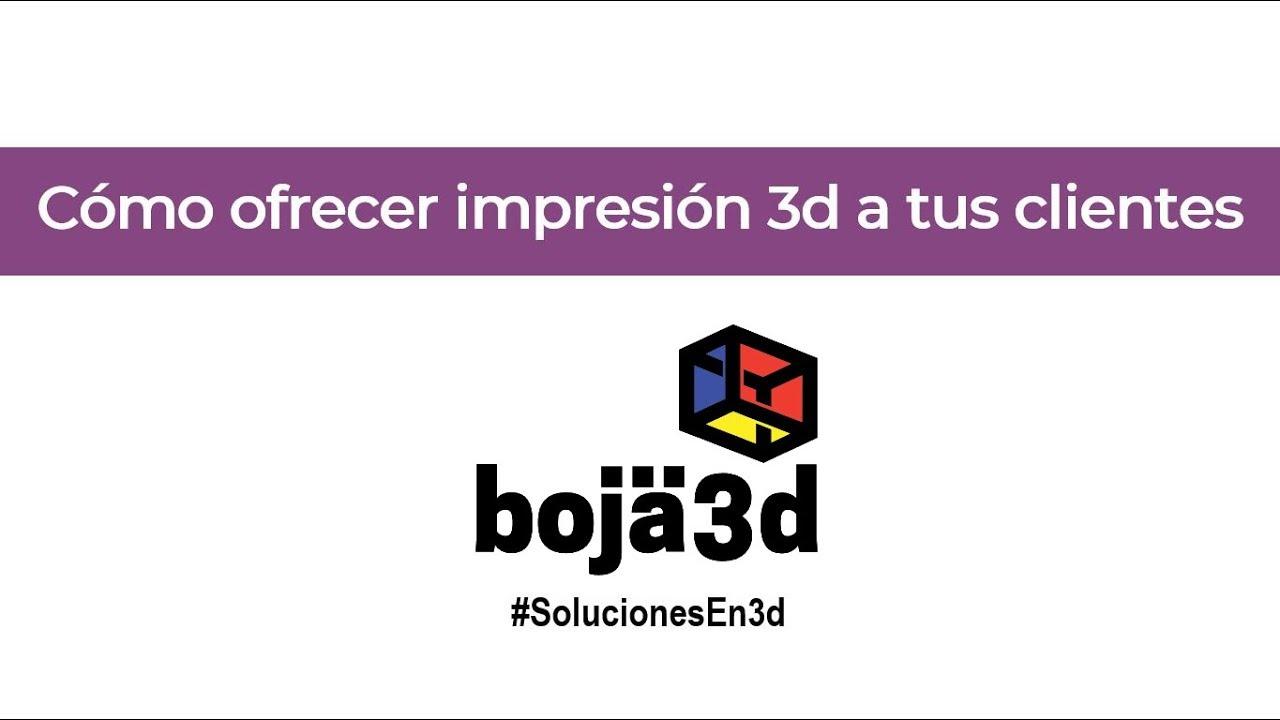 Webinar Manufactura Aditiva - ¿Cómo ofrecer impresión 3d industrial a tus clientes?