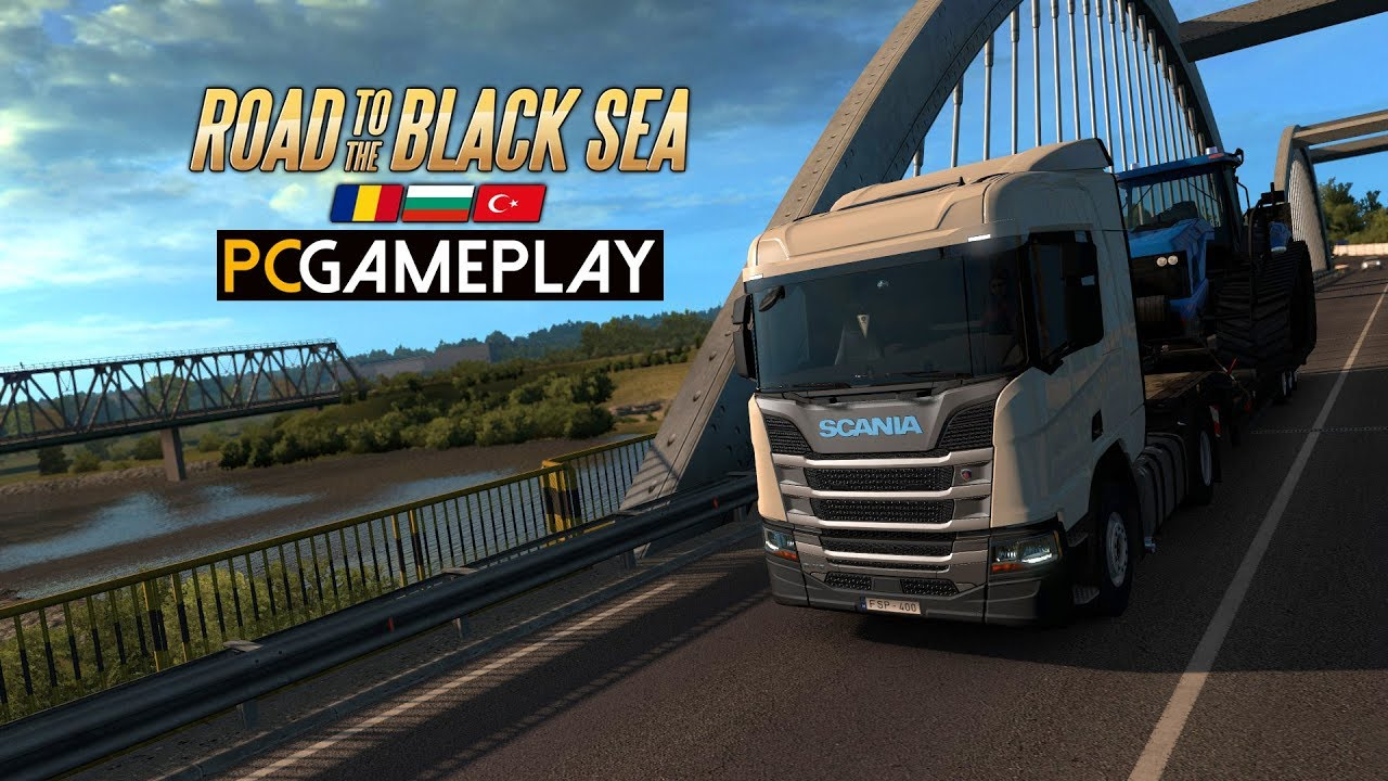Download Euro Truck Simulator 2: Road to the Black Sea Gameplay (PC HD)