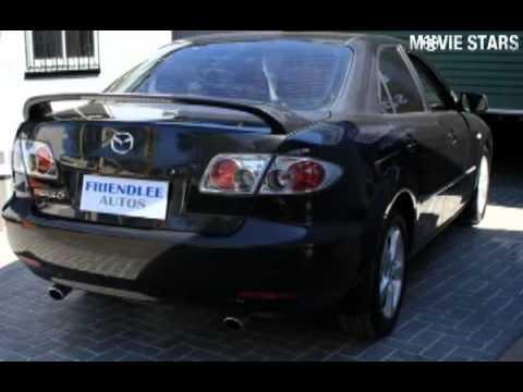 mazda 6 2004 black. 2004 mazda 6 limited black manual sedan n
