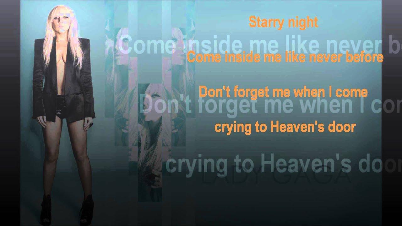 Lady GaGa - The Queen Lyrics | MetroLyrics