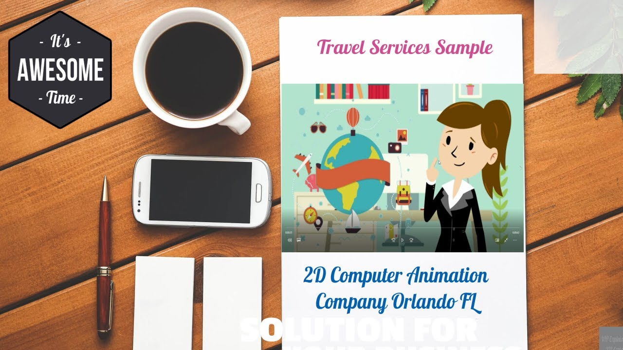 2D Computer Animation Company Orlando FL | Travel Services |Call ...