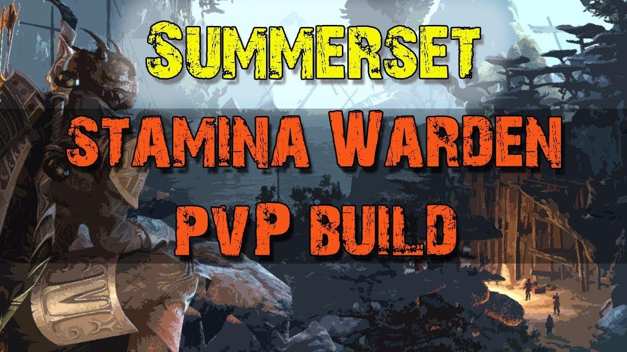 Stamina Warden Solo PvP Build - Elder Scrolls Online: Summerset
