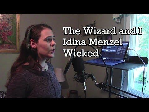 """""""The Wizard and I"""" Idina Menzel- """"Wicked"""" (Katie Fox Cover)"""
