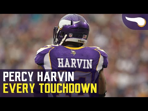 Every Touchdown Percy Harvin scored with the Vikings