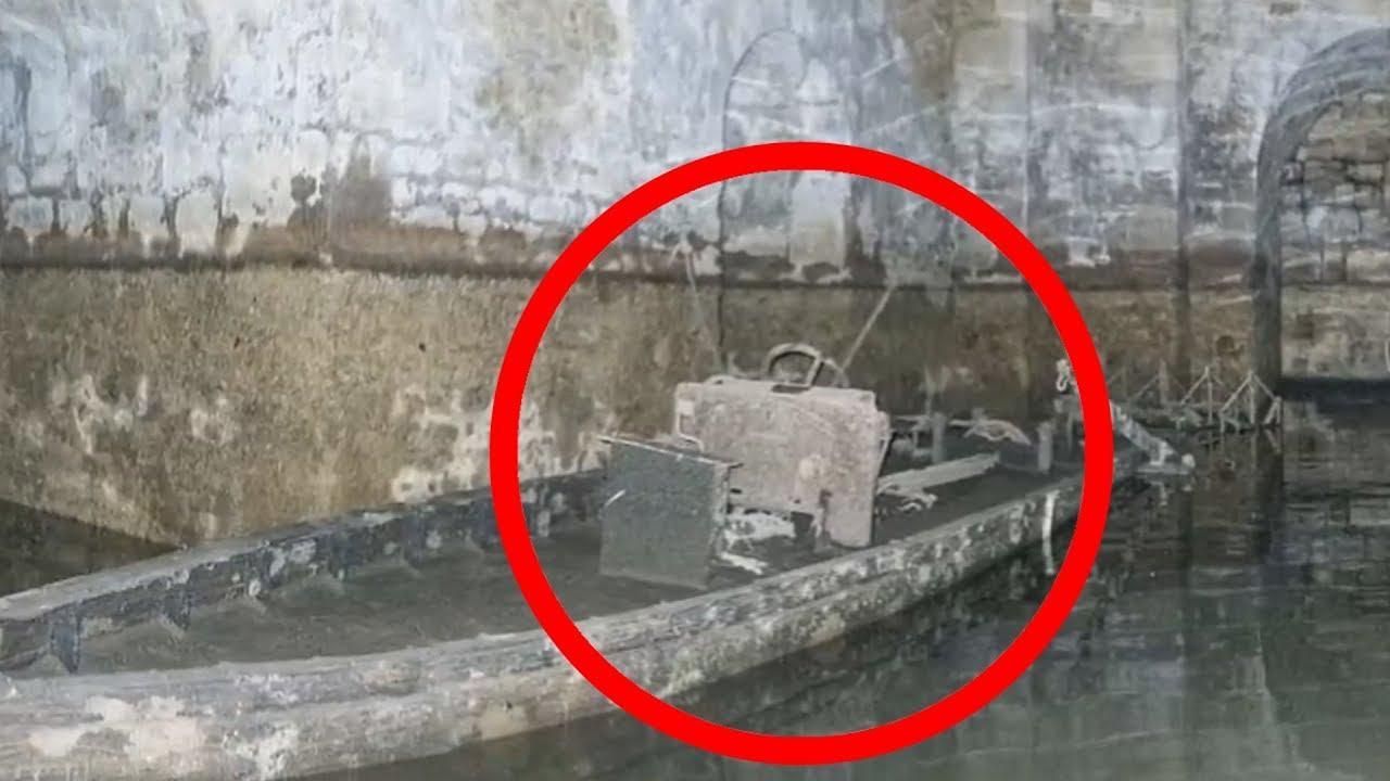 Когда осушили озеро в Замке, НАШЛИ ЭТО. Тайные комнаты старого замка