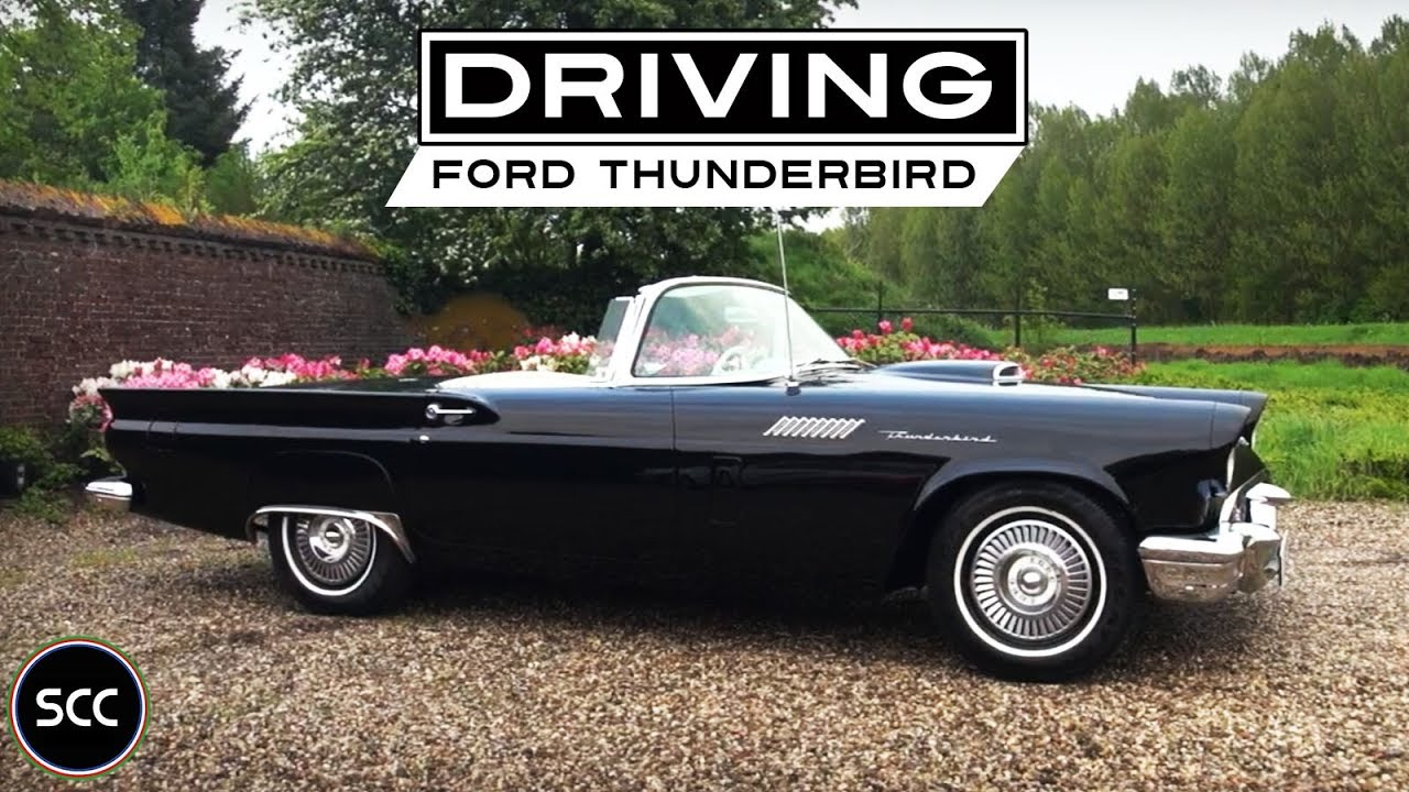 Ford Thunderbird Convertible 1957 Test Drive In Top Gear Engine Sound Scc Tv