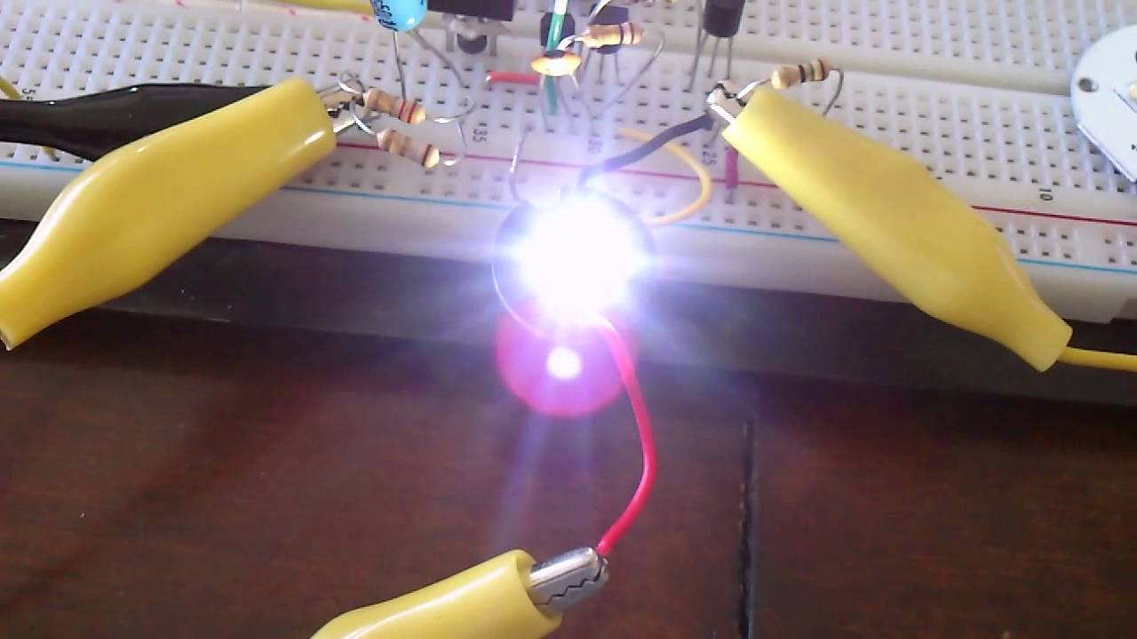 High Power Led From 15 Volt Youtube Efficient Driver Works With Single Aa Cell