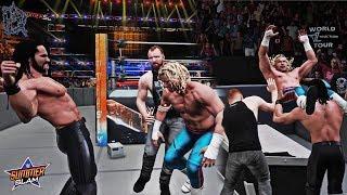 DEAN AMBROSE 2018 RETURN MOD! Feat. Shield Double Powerbomb w/ Seth Rollins! (WWE 2K18 Mods)
