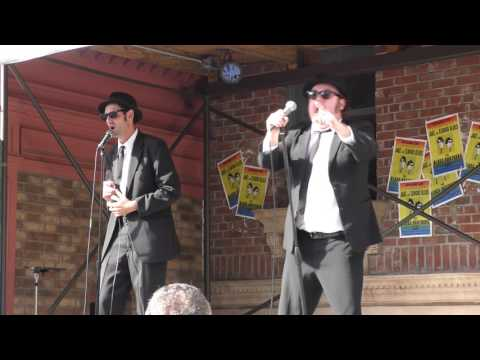 4K THE BLUES BROTHERS LIVE @ UNIVERSAL STUDIOS 2017