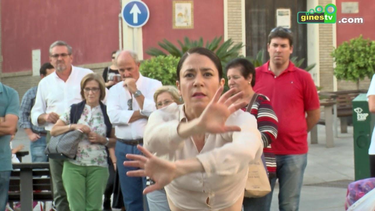 El flamenco 'salió' a la calle dentro de su 'semana grande' en Gines