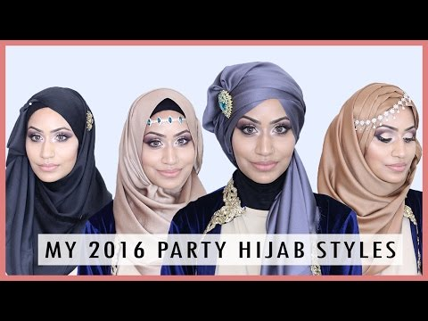 Hijab Tutorial For Wedding Party Trend 2016 Doovi