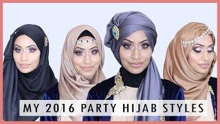 MY 2016 | PARTY HIJAB STYLES | Eniyah Rana