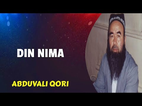 49. Din Nima | Abduvali Qori